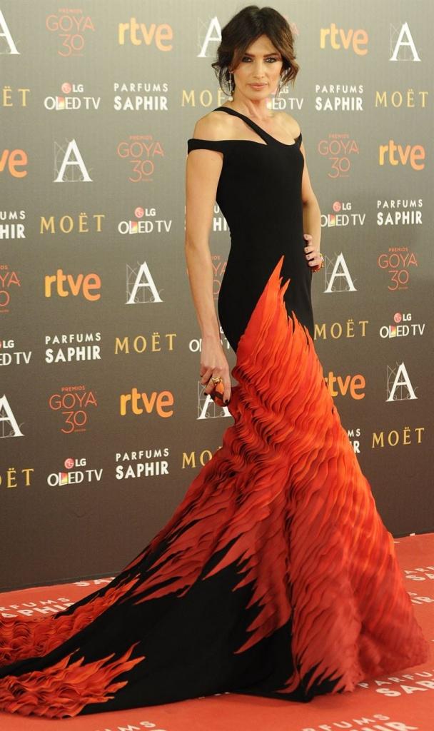 Nieves Álvarez Premios Goya 2016