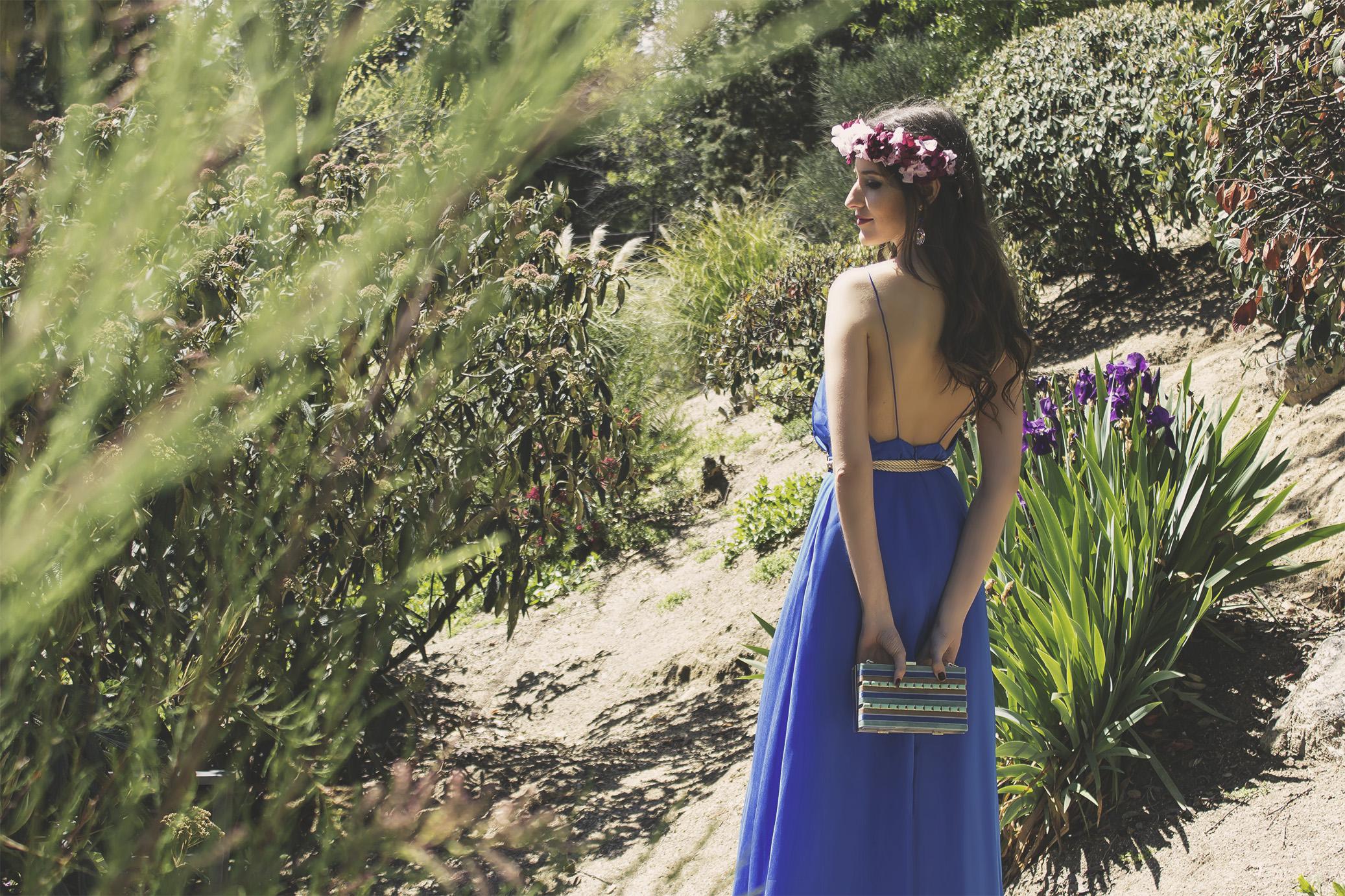 6 Vestido Ana de La Croixe con bolso de Mibuh