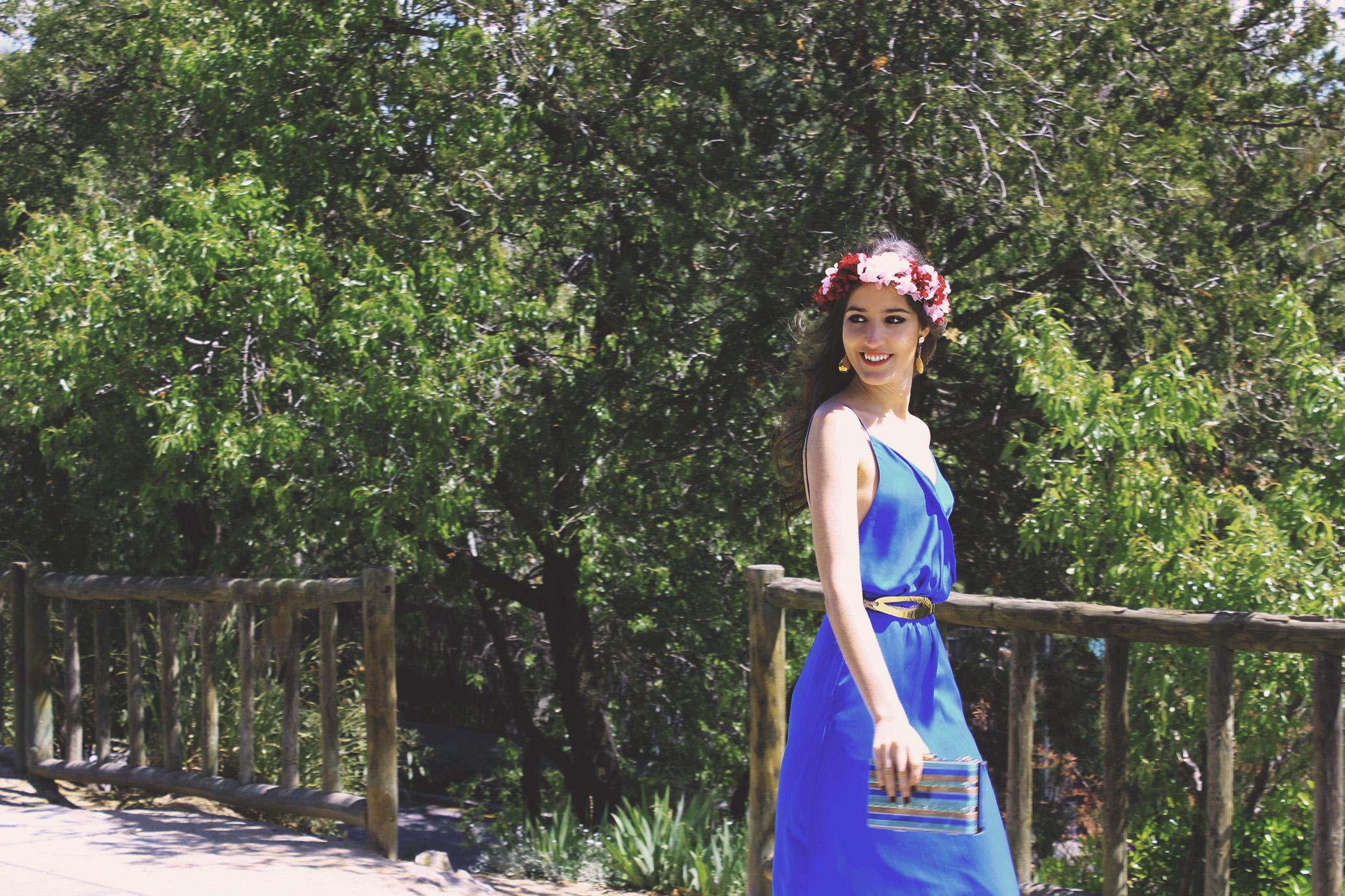 7 Vestido Ana de La Croixe con bolso de Mibuh