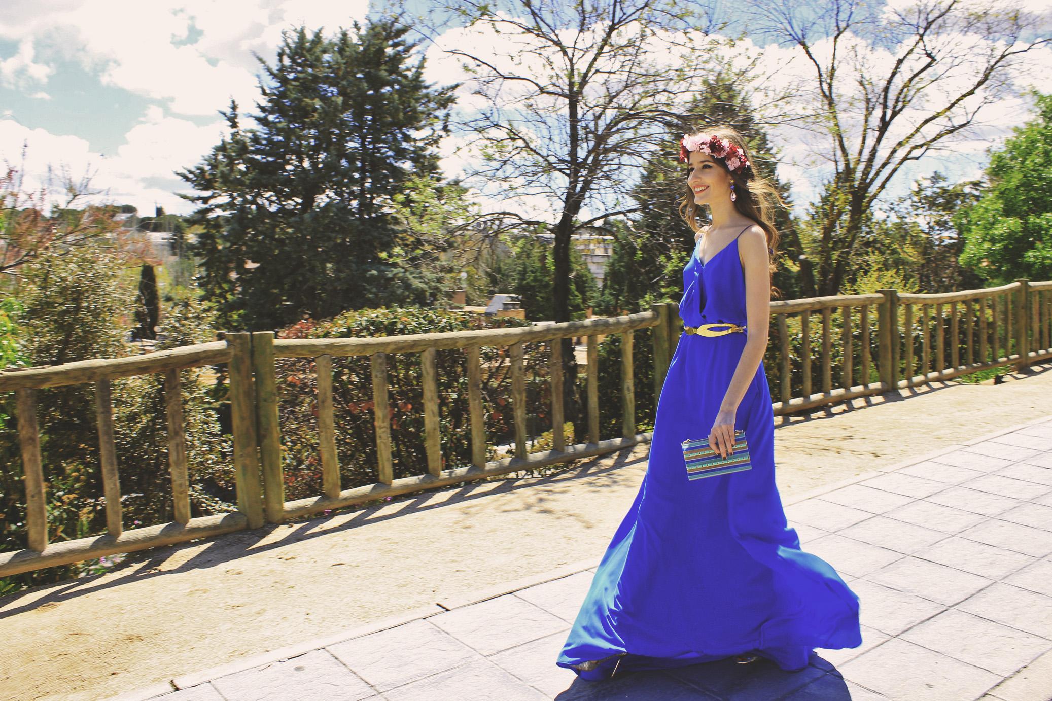 9 Vestido Ana de La Croixe con bolso de Mibuh