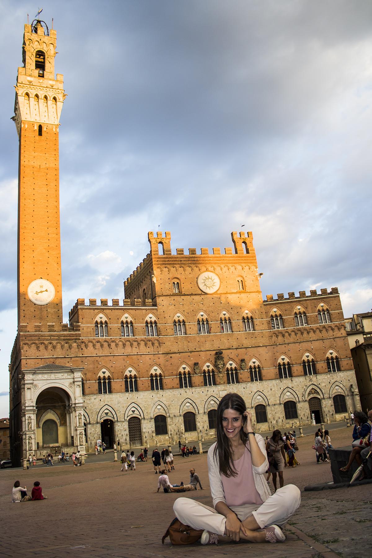 Piazza del Campo en Siena 3