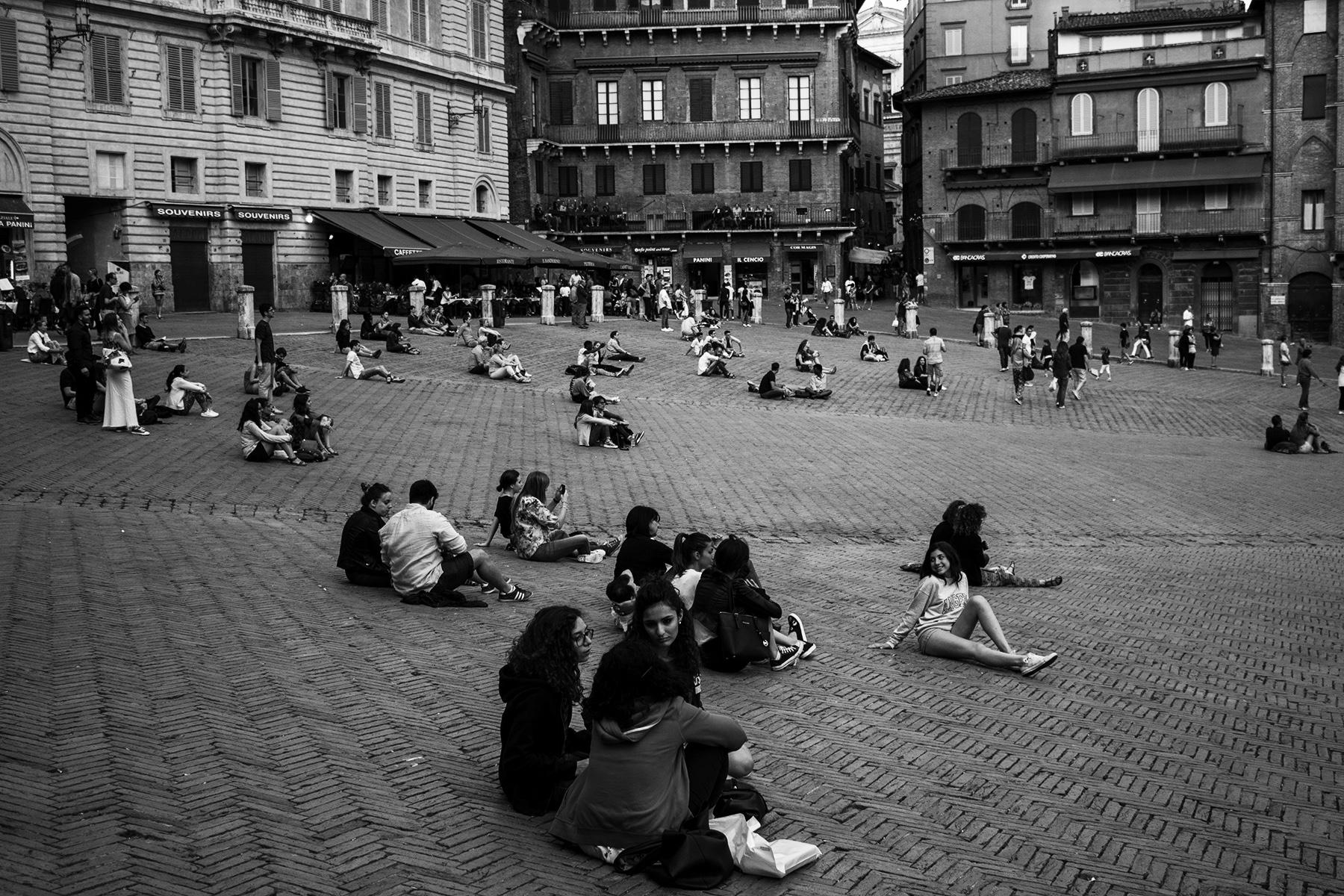 Piazza del Campo en Siena 5 b