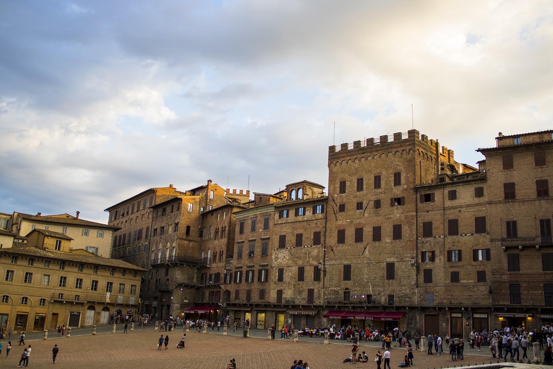 Piazza del Campo en Siena
