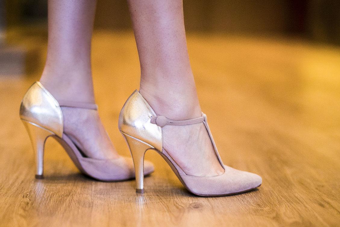 Zapatos invitada boda nude