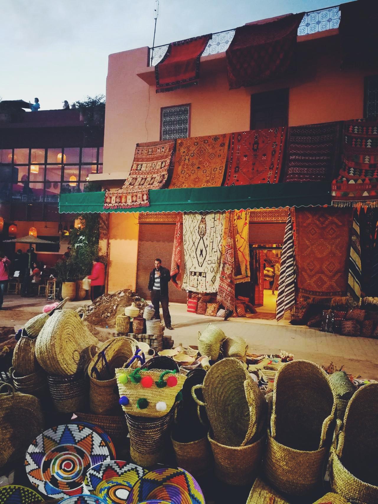 Plaza de las especias Marrakech