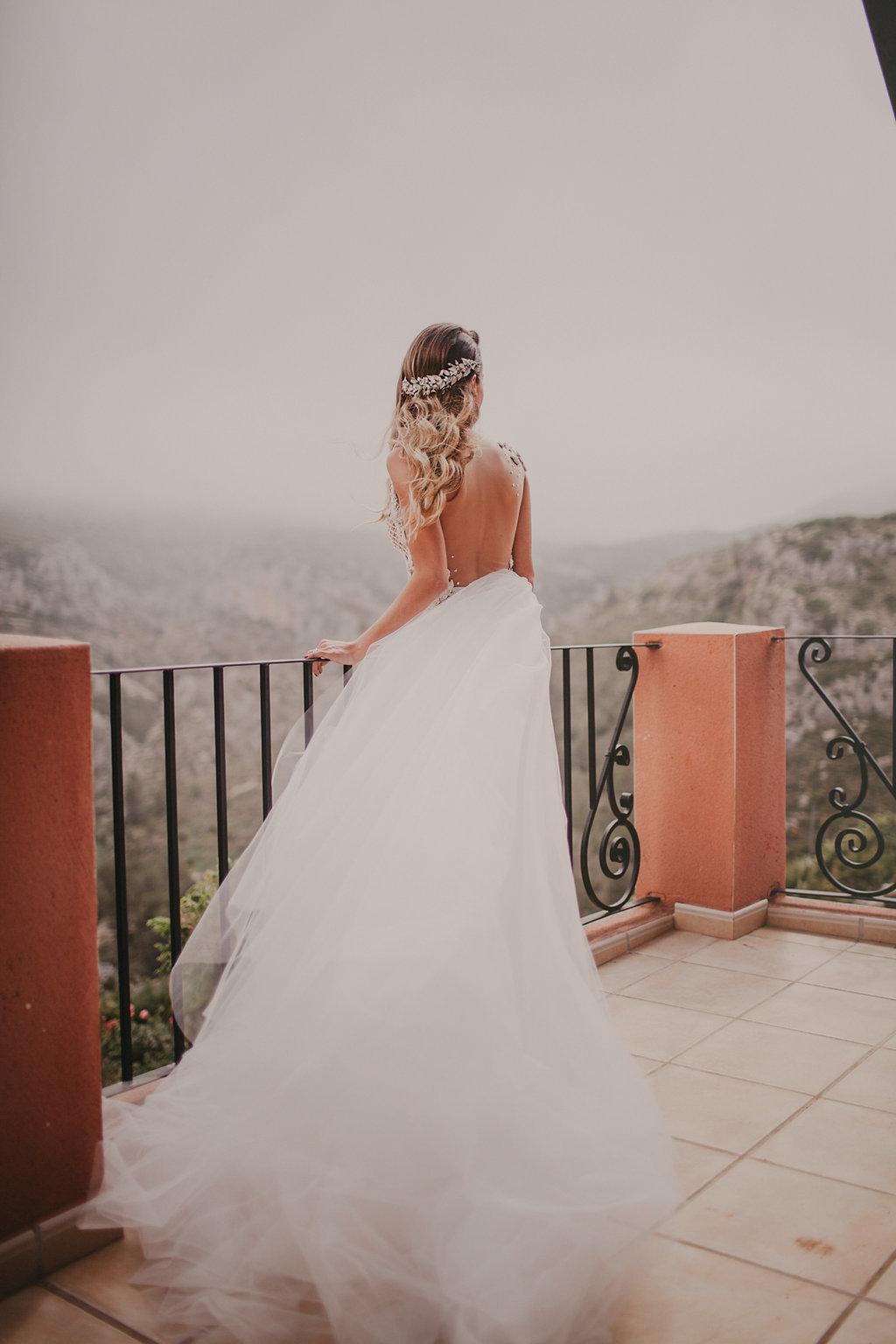 Boda alicante vestido novia Ruben Hernandez