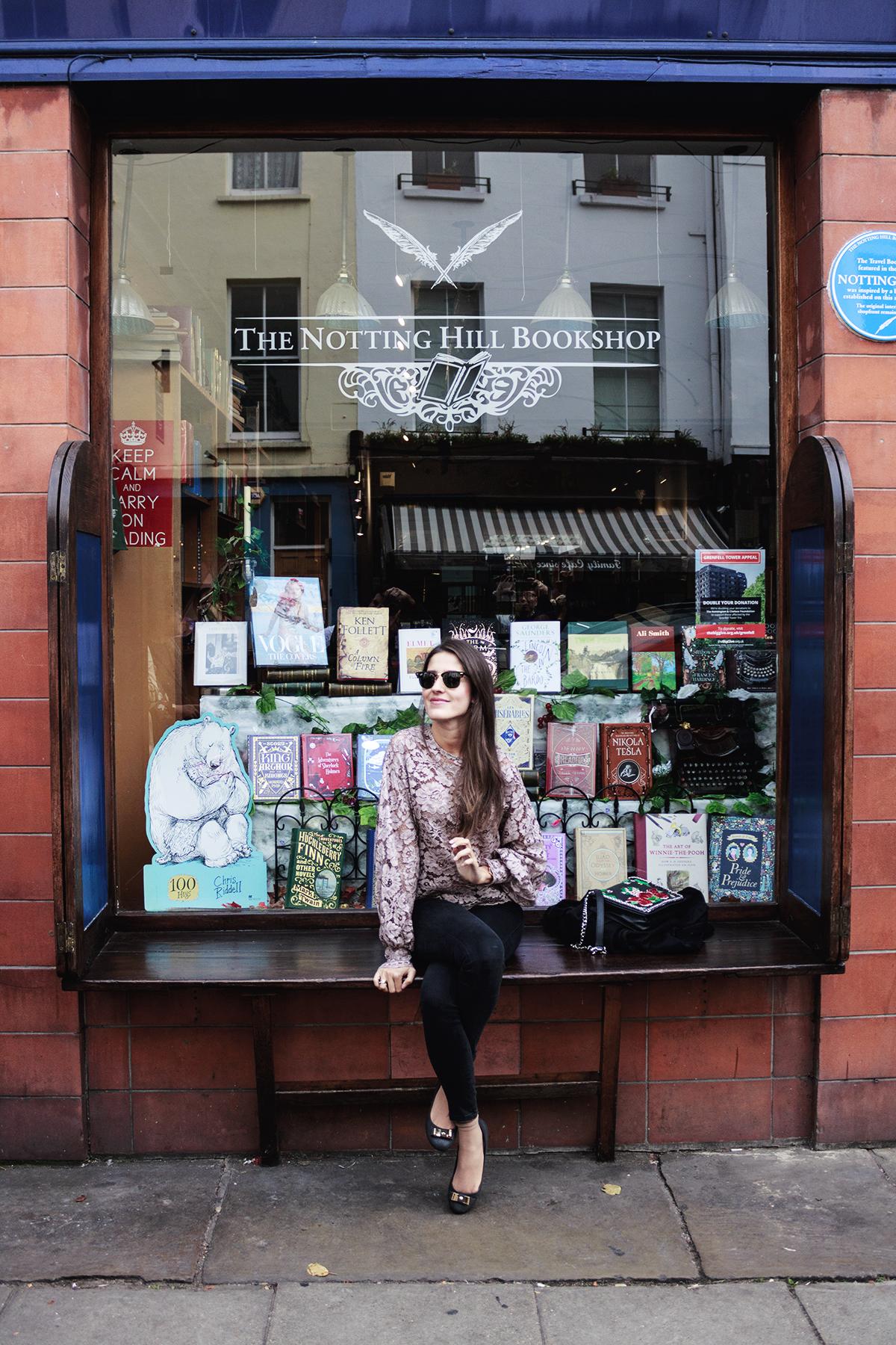 Notting Hill libreria pelicula londres