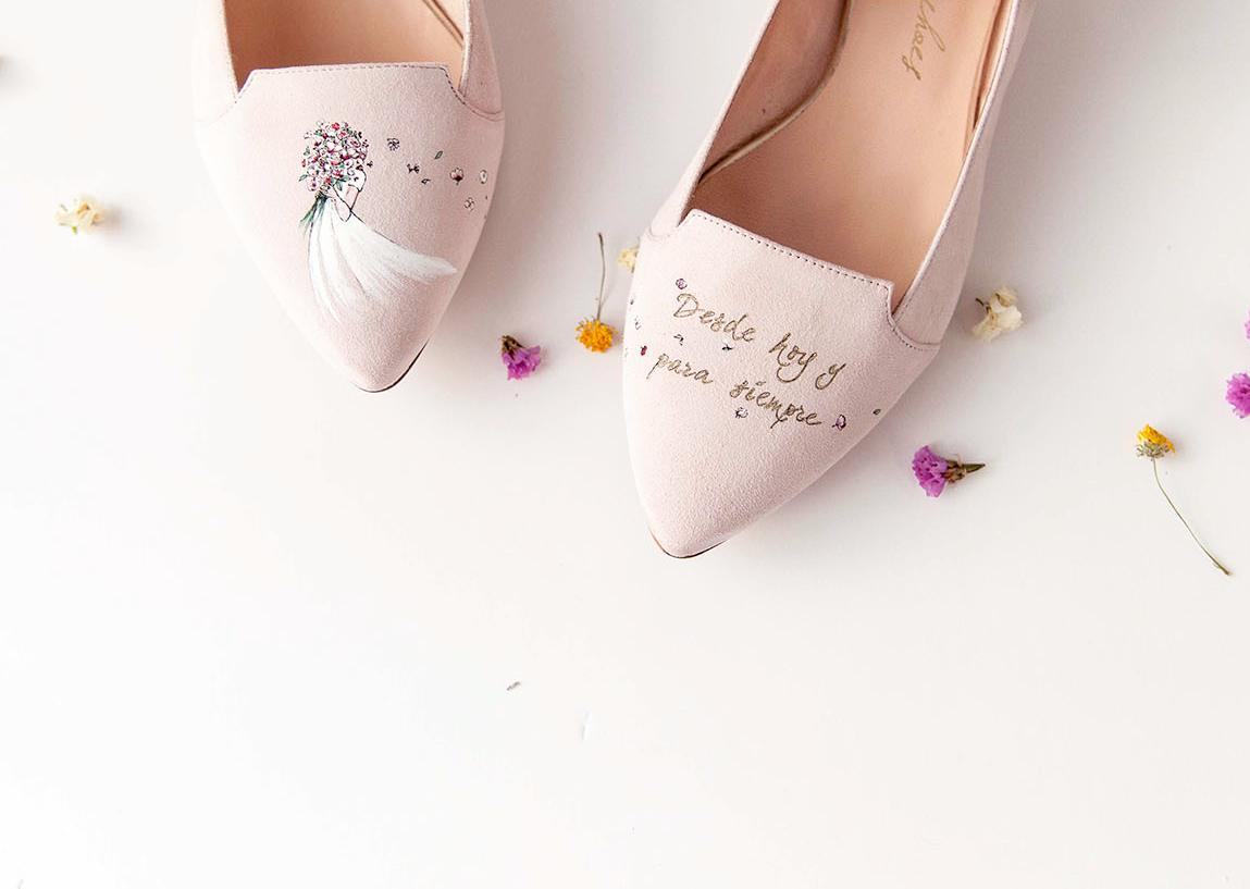 Zapatos e ilustraciones personalizadas