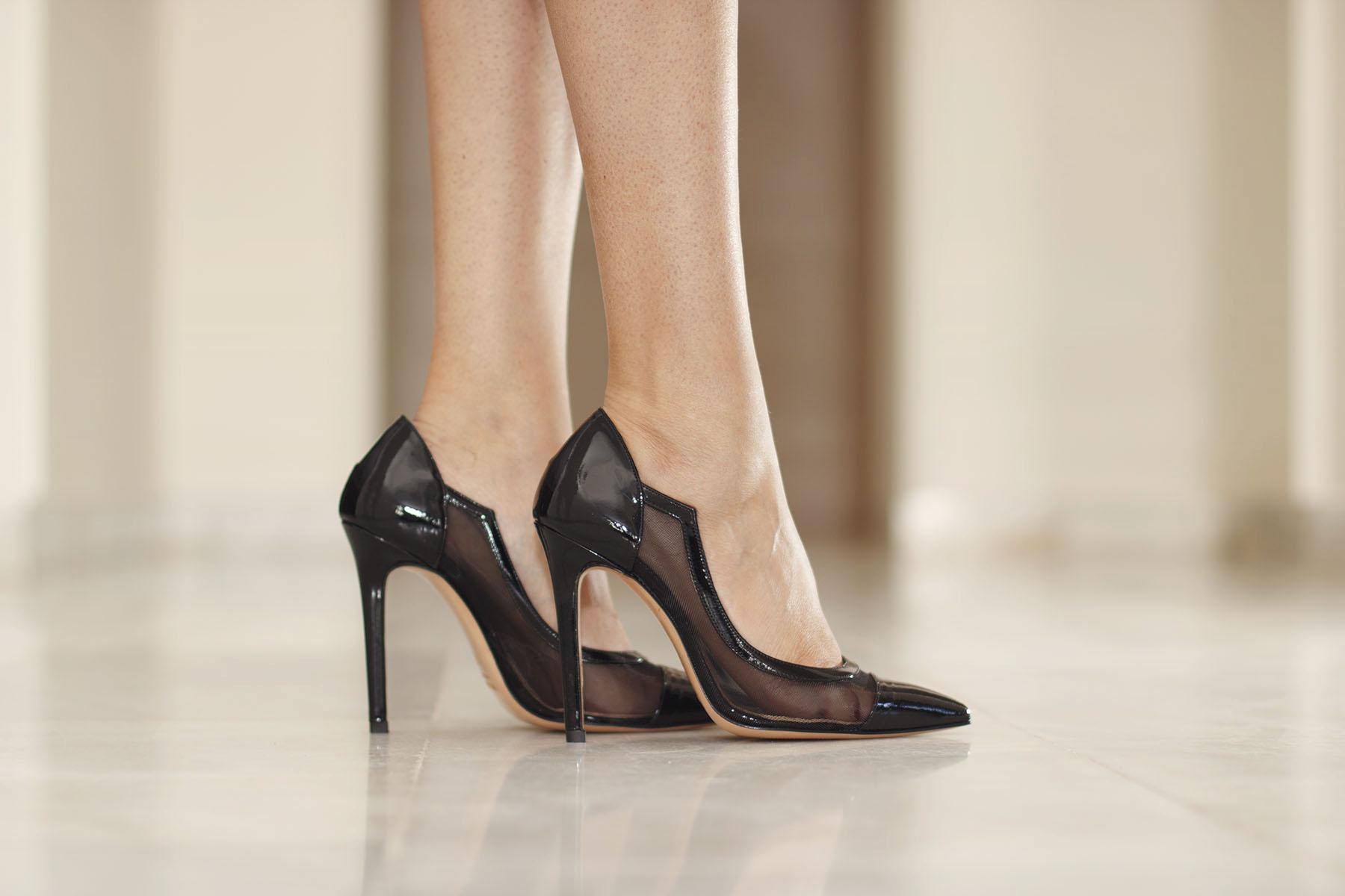 Zapatos fiesta invitada charol negros