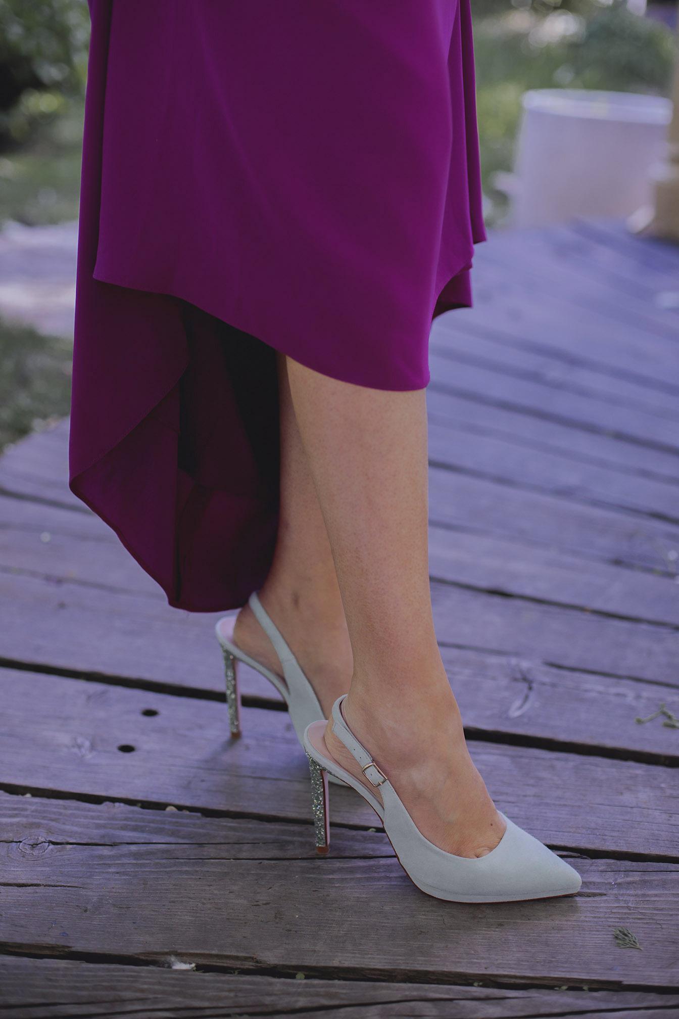 Zapatos invitada boda turquesa verde mint
