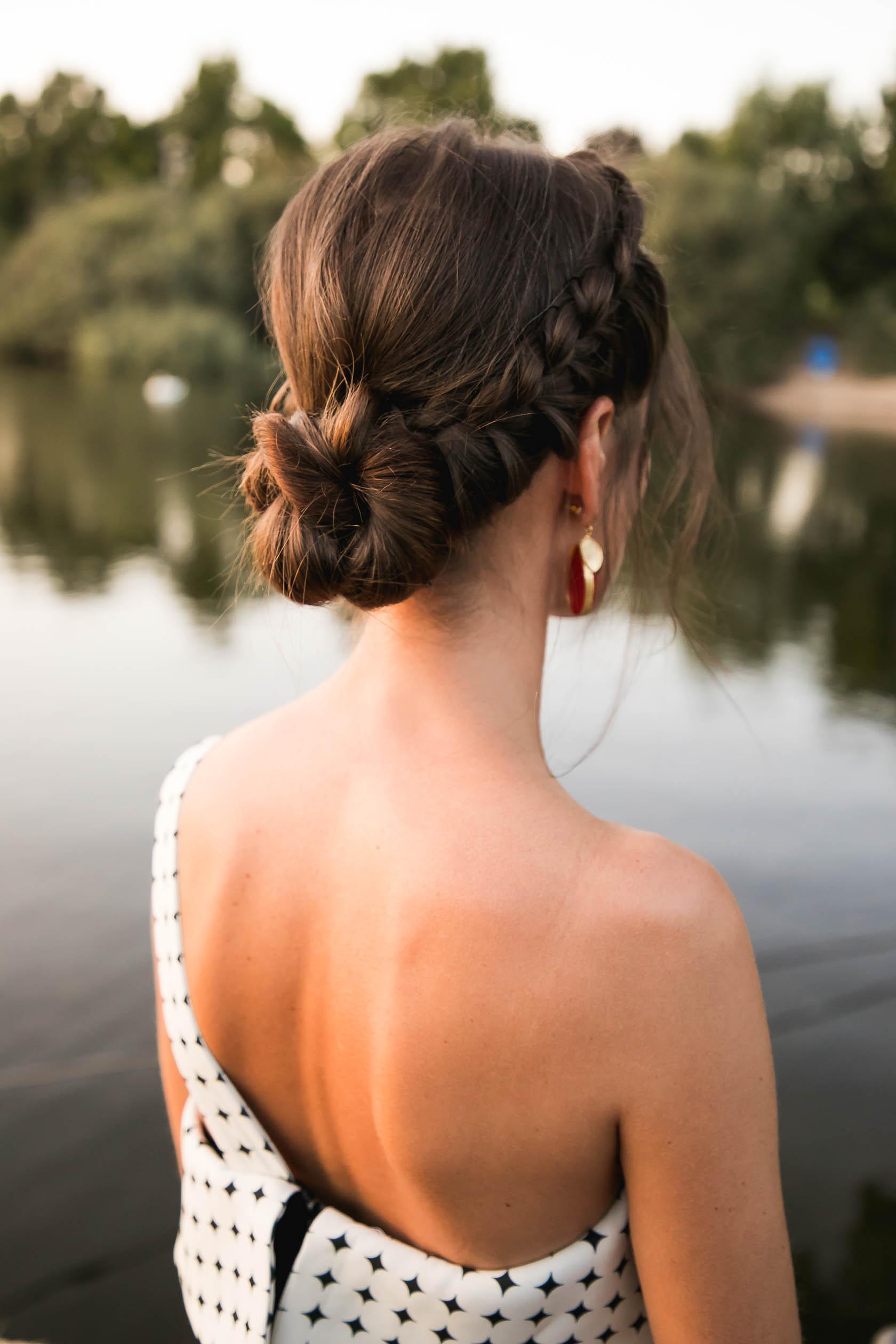 Peinado novia invitada trenza recogido boda