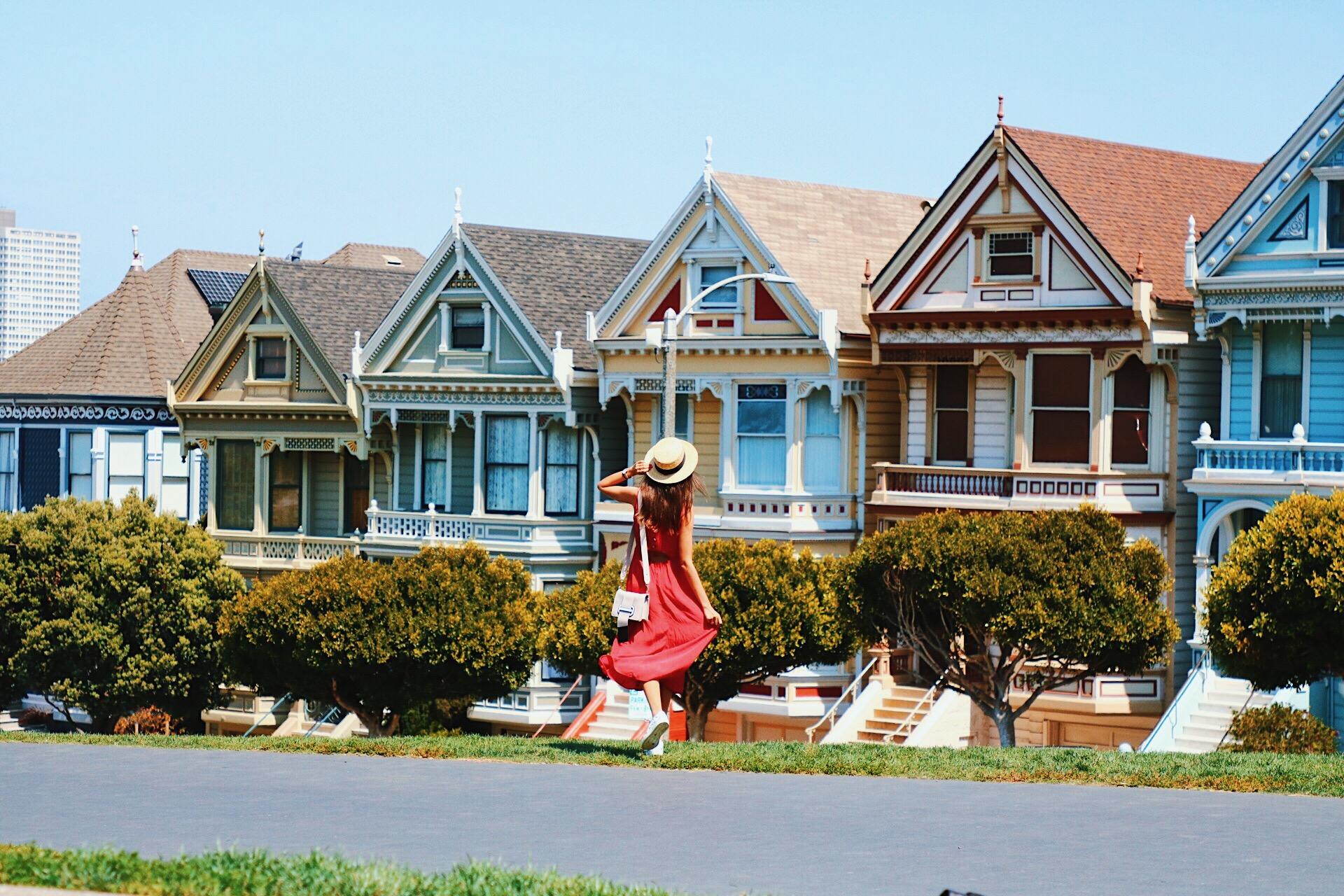 Painted Ladies San Francisco viaje costa oeste travel blogger
