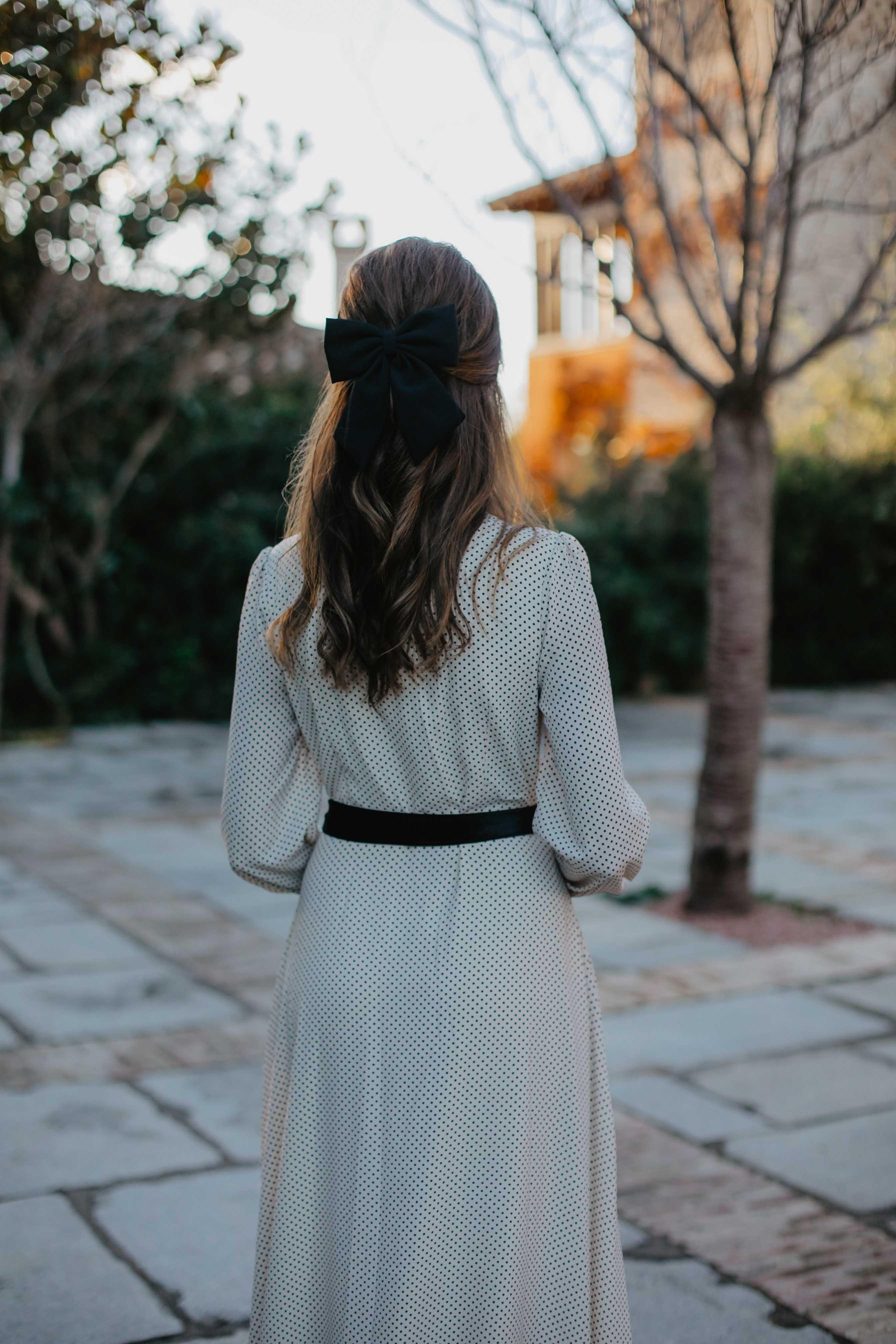 peinado invitada lazo