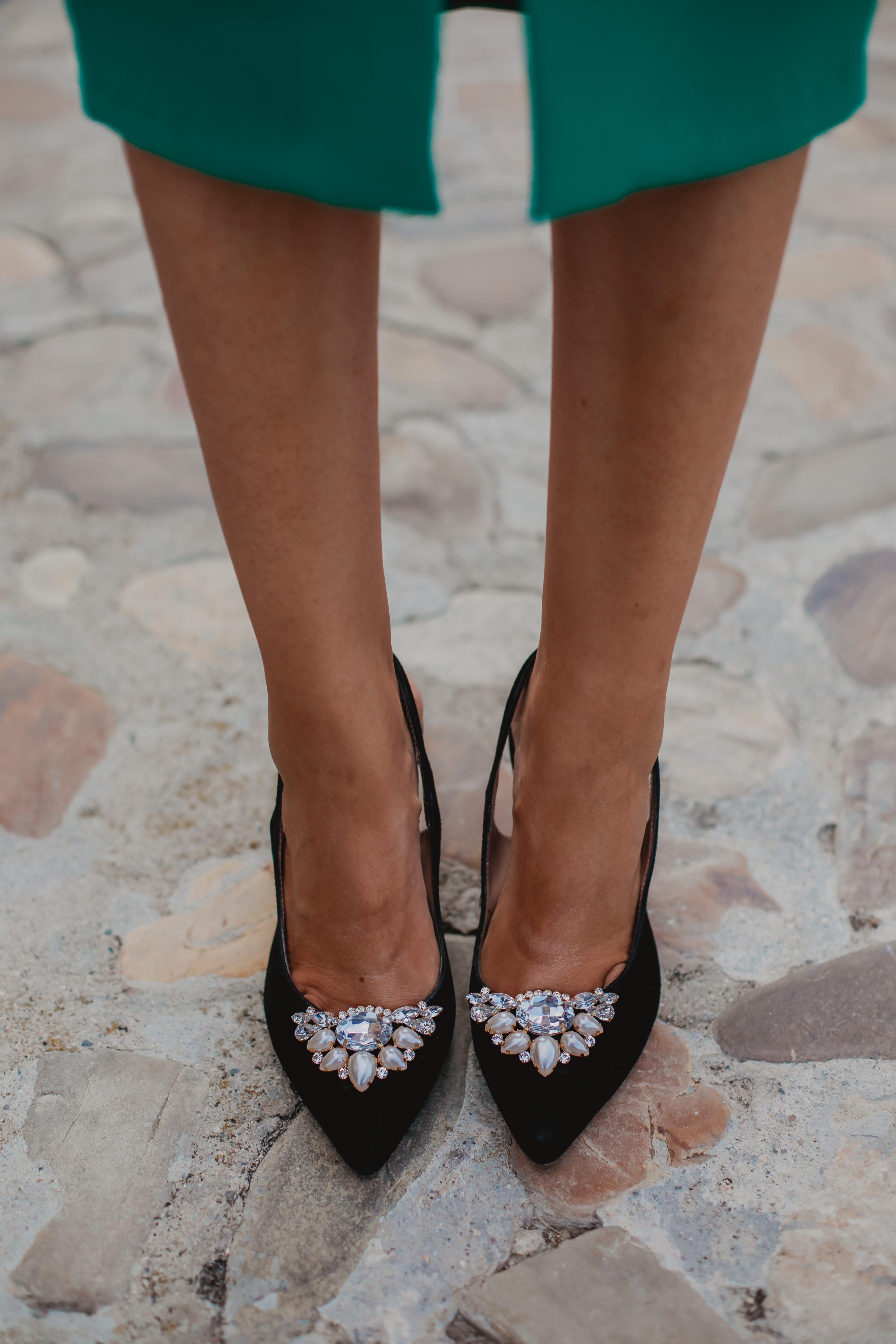 Look invitada 2019 boda zapatos fiesta