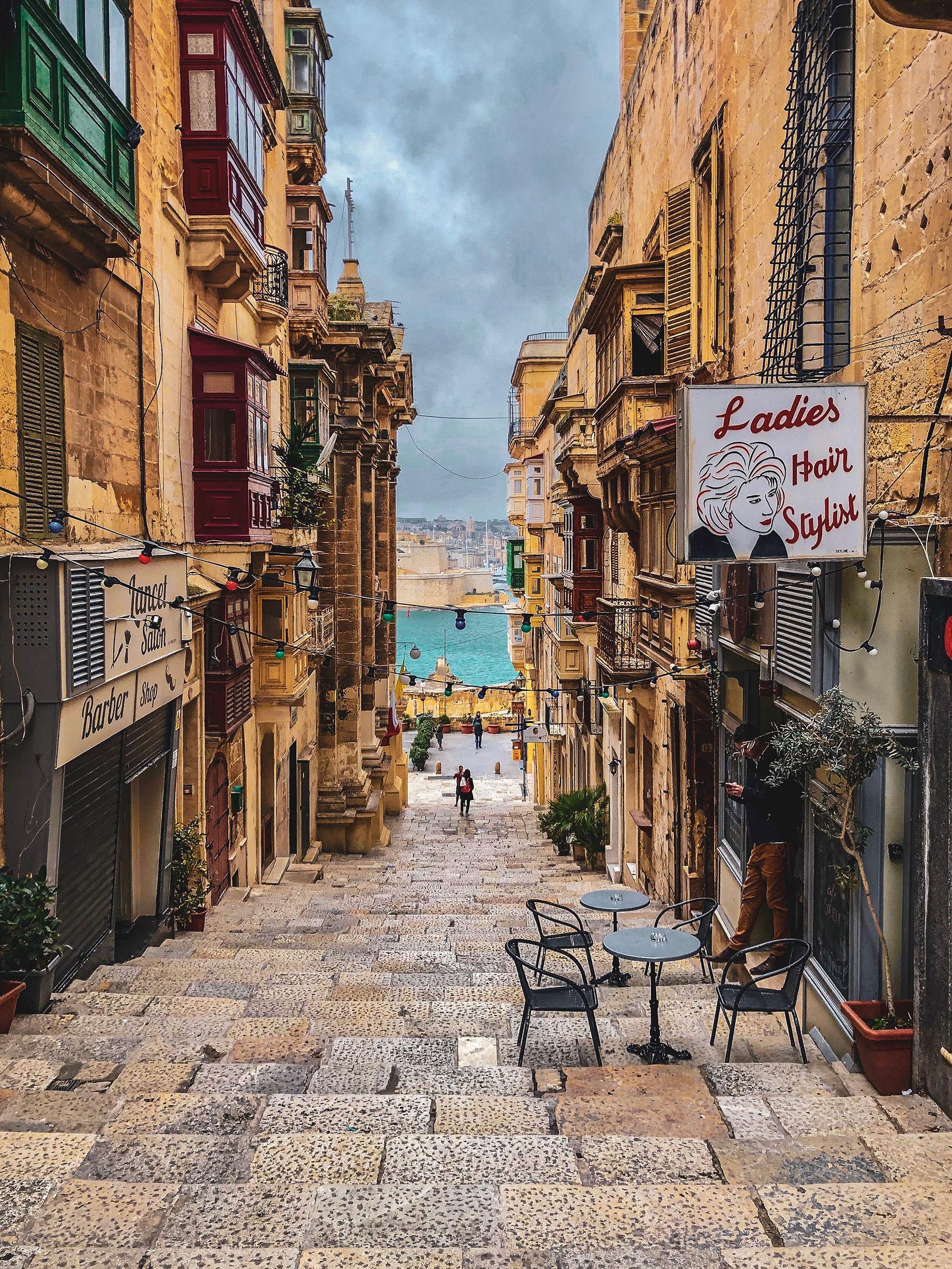 Calles bonitas malta