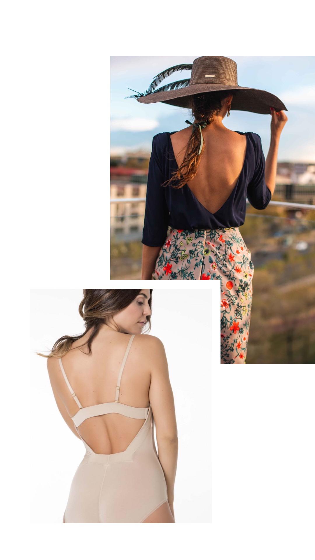 body escote espalda novia