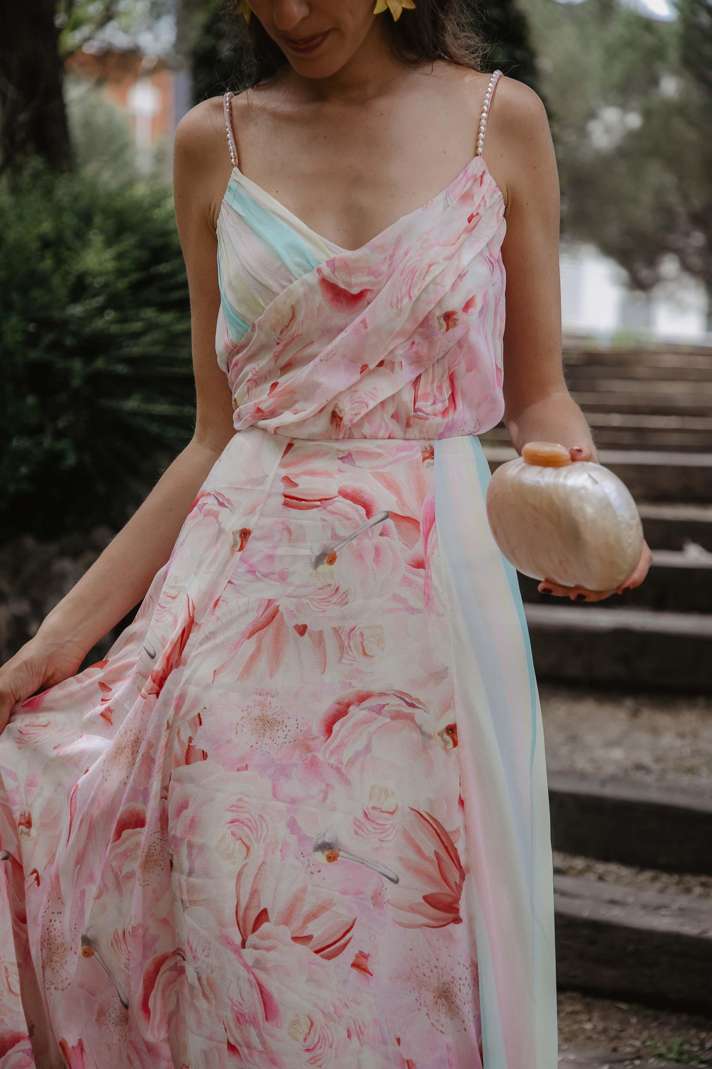 Vestido isolda invitada boda