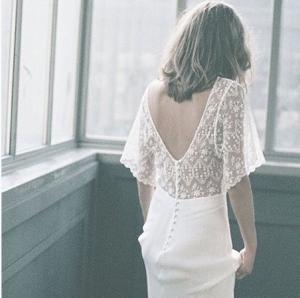 Vestido de novia de Donatelle Godart