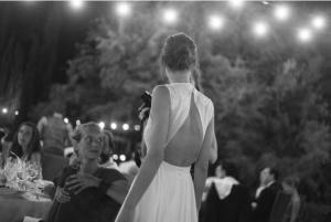 vestido novia espalda trapecio