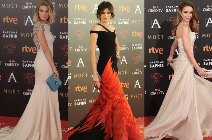 Mejor vestidas Premios Goya 2016