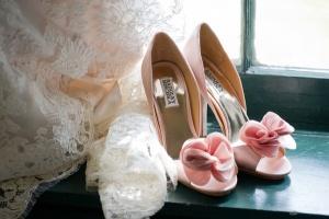 Zapatos rosas de Badgley Mischka