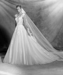 Vestido de novia modelo Ofelia de Pronovias 2017