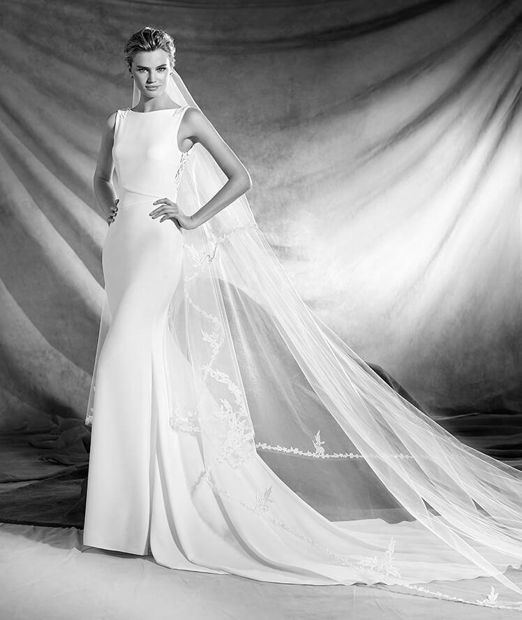 Vestido de novia modelo Oliana de Pronovias 2017