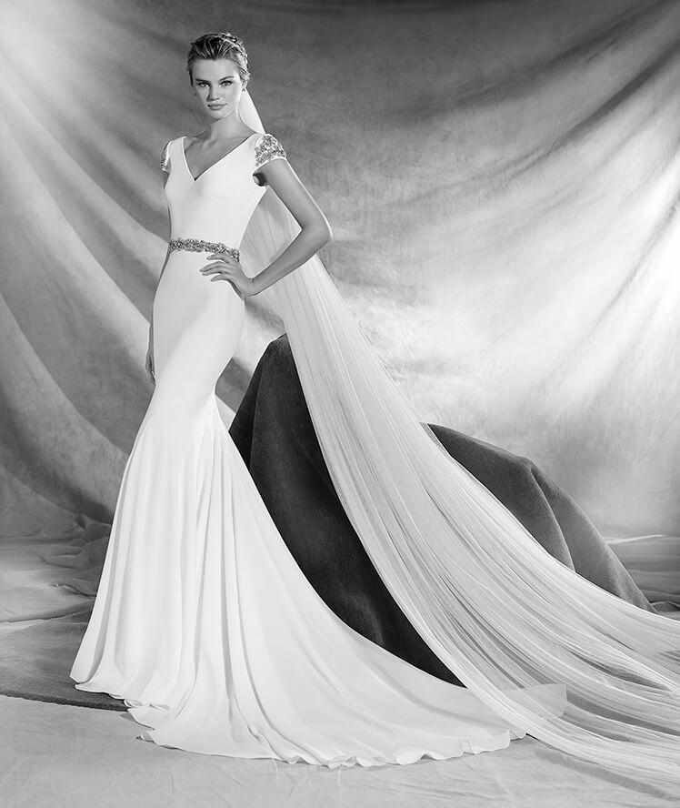 estido de novia modelo Orville de Pronovias 2017
