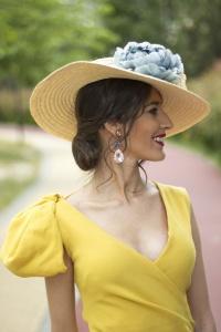 Invitada boda vestido amarillo 24Fab