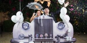 Photobooth bodas coche