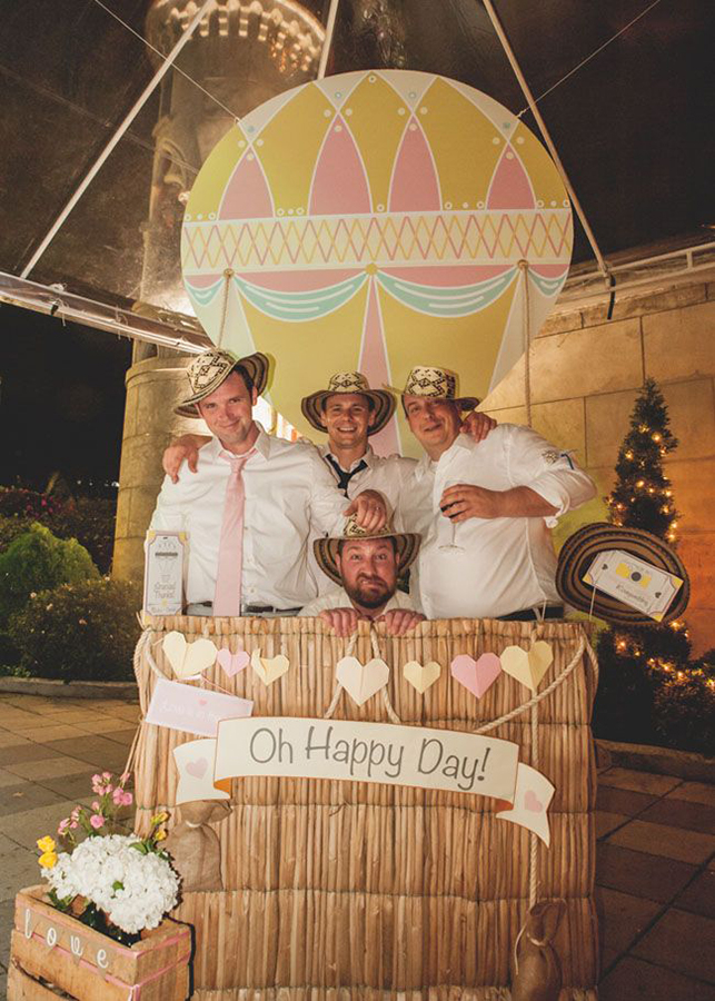 Photobooth bodas globo