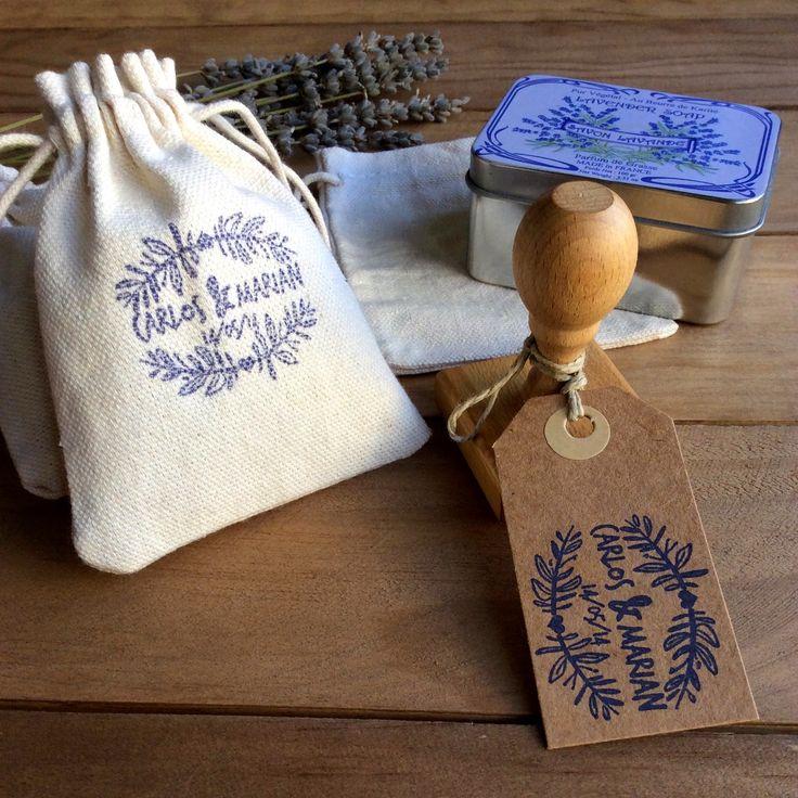 Saquitos personalizados para el arroz