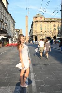 Plaza Miaggore Bolonia