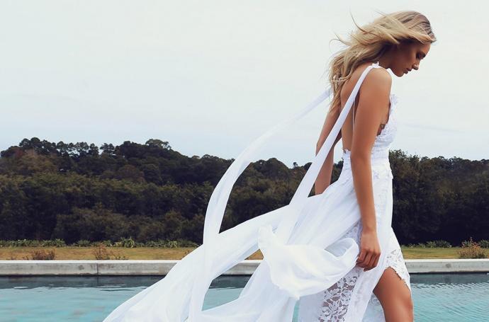 Vestido novia redes sociales grace loves