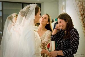 Vestido de novia prueba