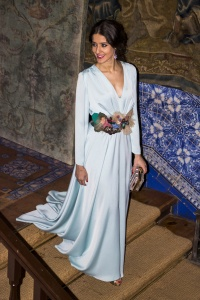 Inviitada boda noche azul Matilde Cano