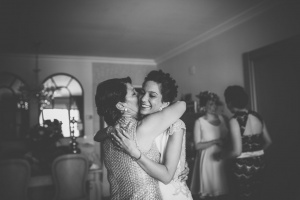 Vestido novia Alicia Rueda espalda