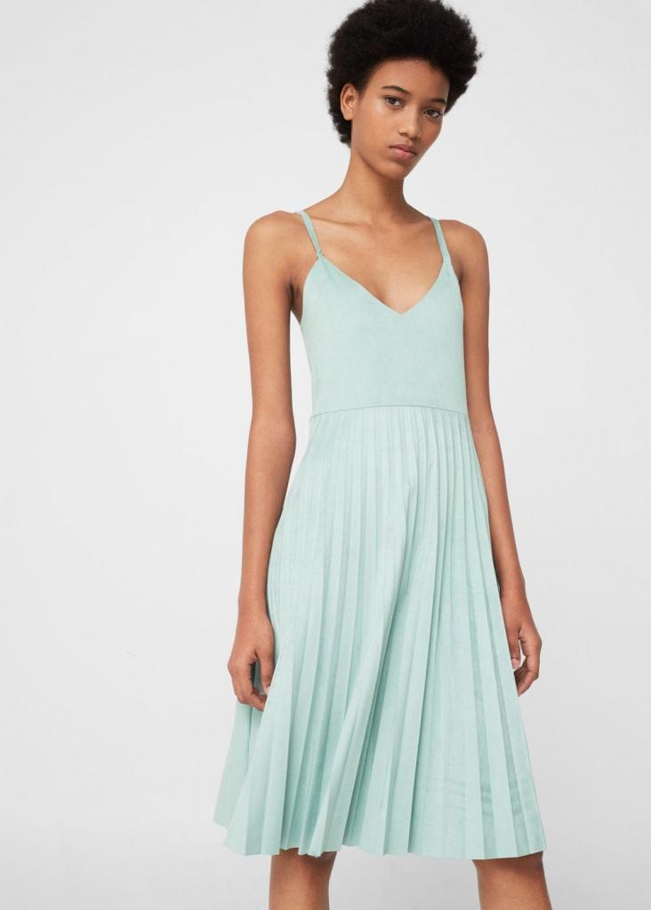 Vestido mint invitada boda lowcost