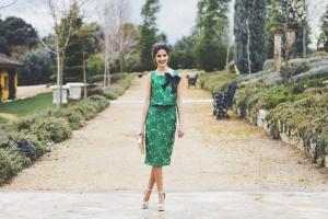 Invitada boda de día Carmen Horneros