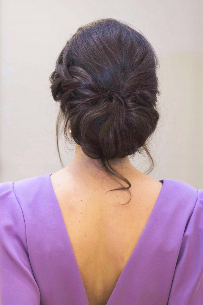Peinado Invitada boda trenza recogido novia
