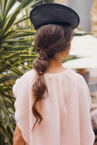 LColeta burbuja peinado invitada novia