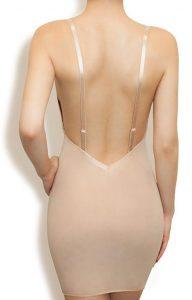 ropa interior sin espalda sujetador