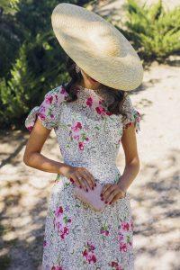 Look lowcost vestido zara invitada boda estampado estrellas