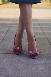 Zapatos lazo novias invitadas boda Salo Madrid
