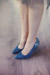 zapatos comodos tancon turquesa azul
