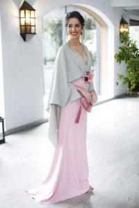 Look invitada perfecta 2018 vestido largo hermana novia