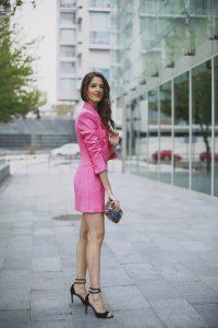 Look graduacion vestido blazer invitada perfecta blogger
