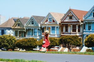 Painted Ladies San Francisco viaje costa oeste travel blogger