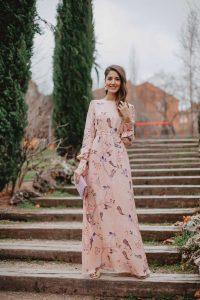 Vestido largo invitada boda noche 2019 espalda