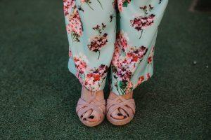 Sandalias colores rosa comoda invitada